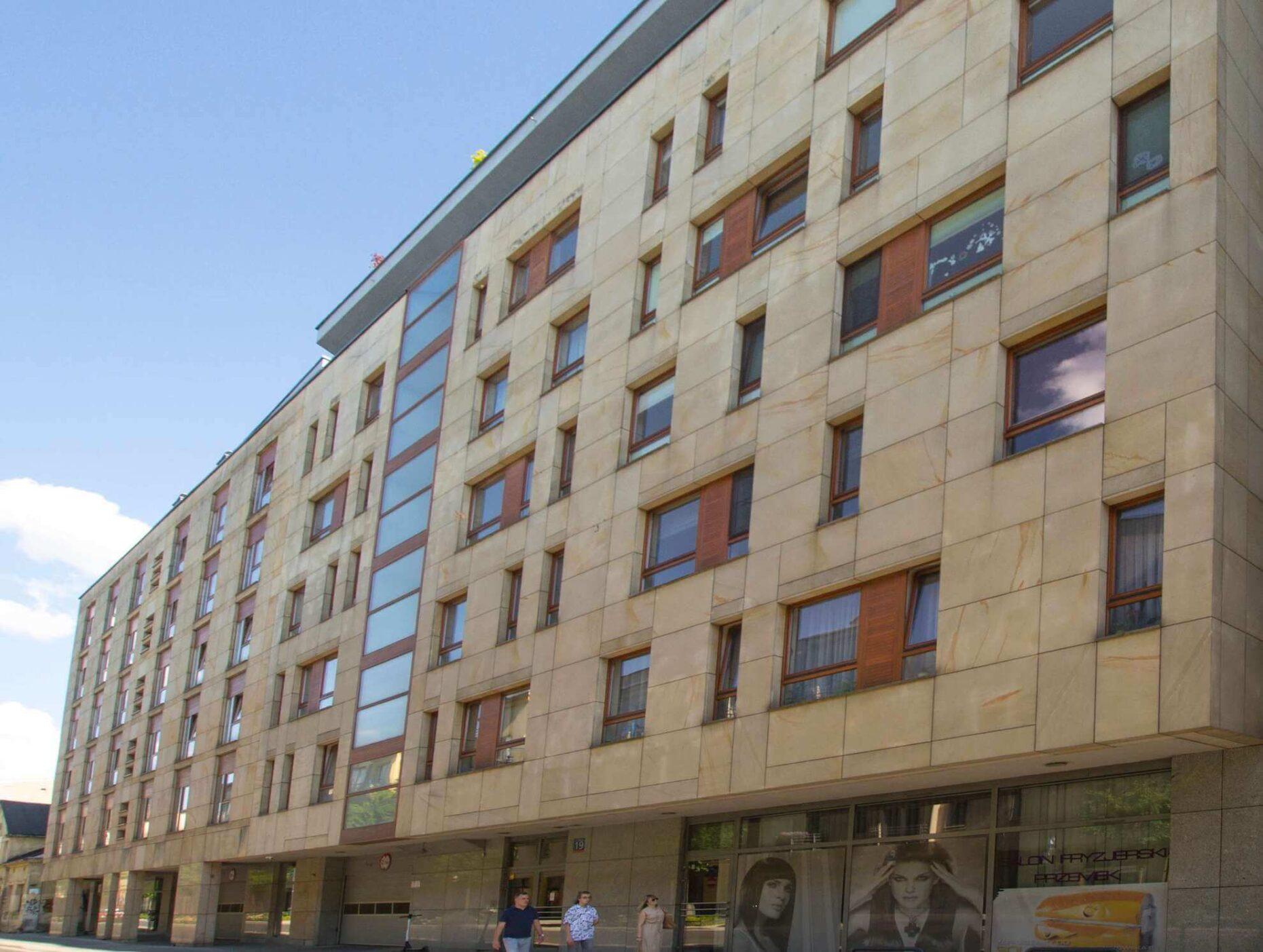 Apartamentowiec, Śródmieście