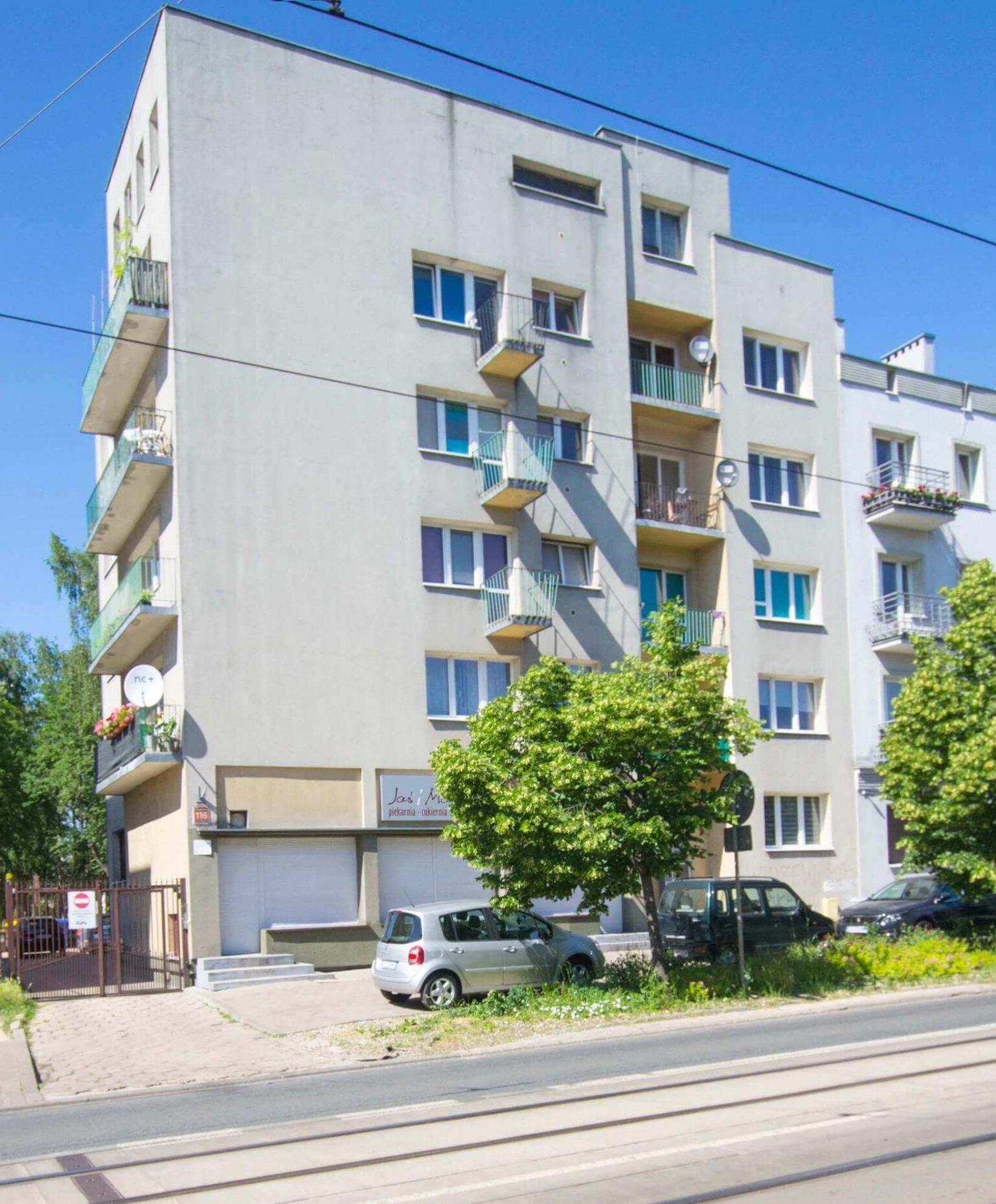 Blok mieszkalny, Łódź Śródmieście